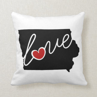 Iowa Love!  Gifts for IA Lovers Pillow