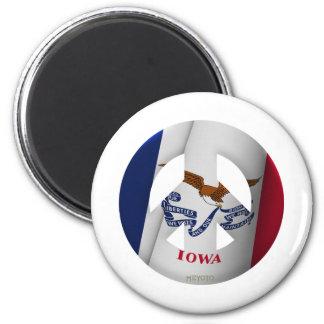 Iowa Fridge Magnet