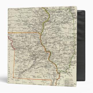 Iowa, Missouri, and Illinois 3 Ring Binder
