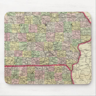 Iowa, Missouri Mouse Pad