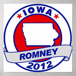 Iowa Mitt Romney Poster