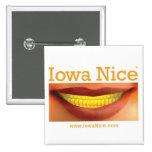 Iowa Nice Button