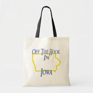Iowa - Off The Hook Budget Tote Bag