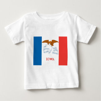 Iowa  Official State Flag Baby T-Shirt