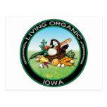 Iowa orgánico postal