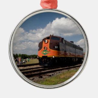 iowa pacific on power parade metal ornament