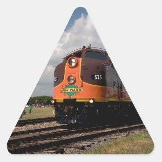 iowa pacific on power parade triangle sticker