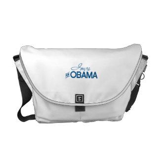 Iowa para Obama - .png Bolsa De Mensajería