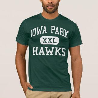 Iowa Park - Hawks - High School - Iowa Park Texas T-Shirt