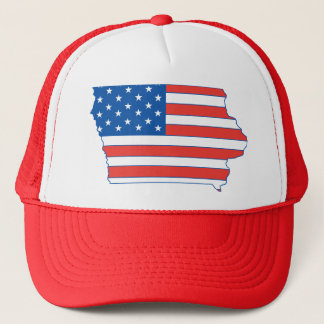 Iowa Patriotic Hat