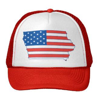 Iowa Patriotic Hat