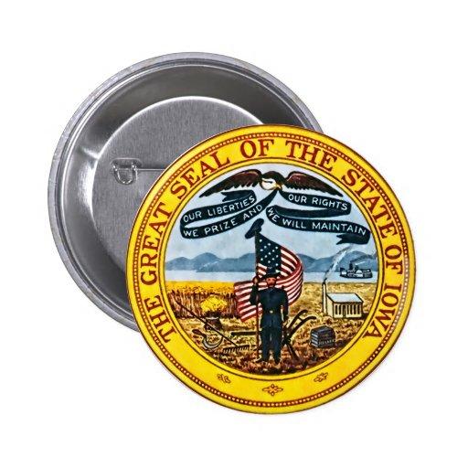 Iowa Pin
