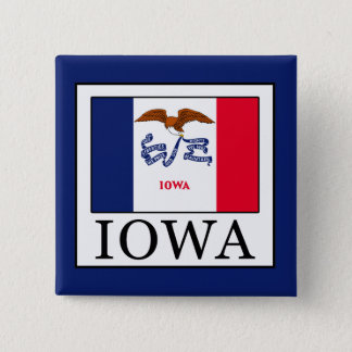 Iowa Pinback Button