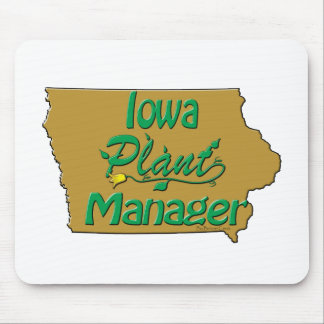 Iowa Plant Manager Mouse Pad