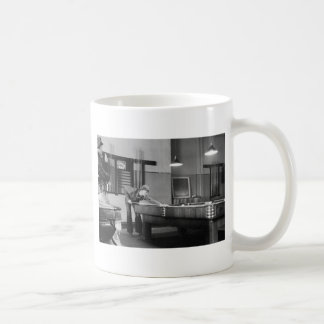 Iowa Pool Hall, 1940s Coffee Mug