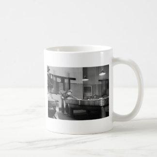 Iowa Pool Hall, 1940s Coffee Mug