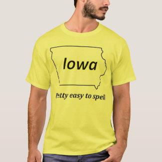 Iowa - Pretty Easy to Spell T-Shirt
