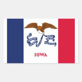 Iowa Rectangular Sticker