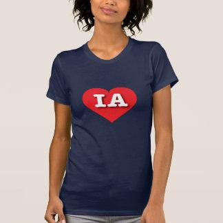 Iowa Red Heart - Big Love Tee Shirt
