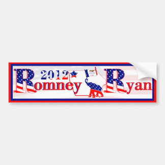 Iowa Romney and Ryan 2012 Bumper Sticker