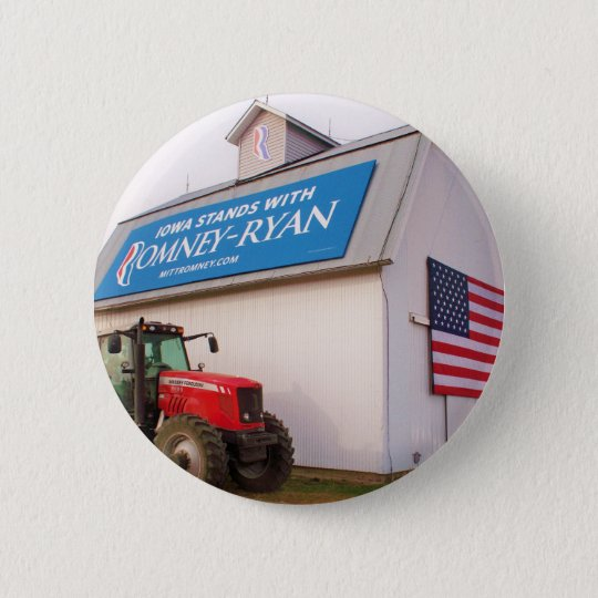 Iowa Romney-Ryan Button