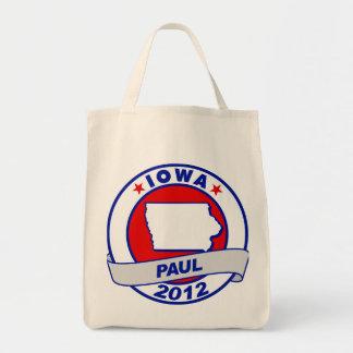 Iowa Ron Paul Canvas Bags