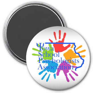 Iowa School Psychologists Association Logo Magnet