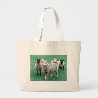 Iowa Sheep Large Tote Bag