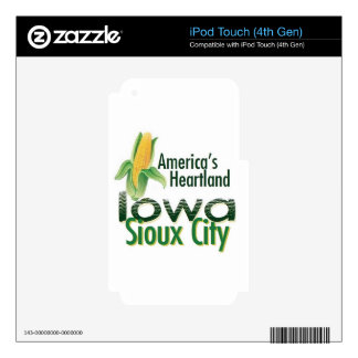 IOWA SKIN FOR iPod TOUCH 4G