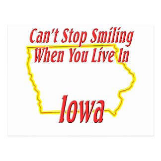 Iowa - Smiling Postcard