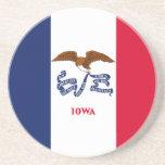 Iowa State Flag Coaster
