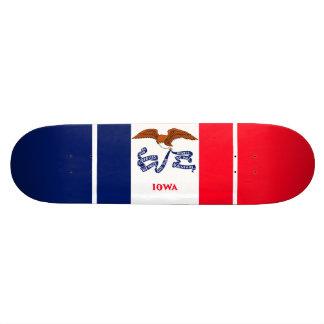 Iowa State Flag Design Skateboard Deck