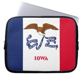 Iowa State Flag Laptop Sleeve