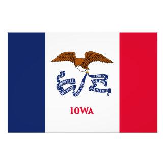 Iowa State Flag Photograph