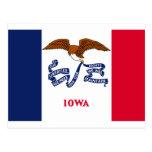 Iowa State Flag Postcards