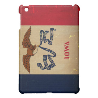 Iowa State Flag VINTAGE.png Case For The iPad Mini