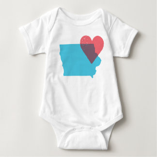 Iowa State Love Baby Shirt