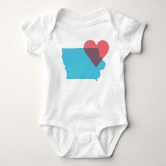 Iowa State Love Baby Shirt