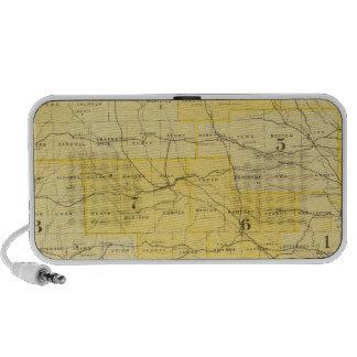 Iowa State Maps iPod Speaker