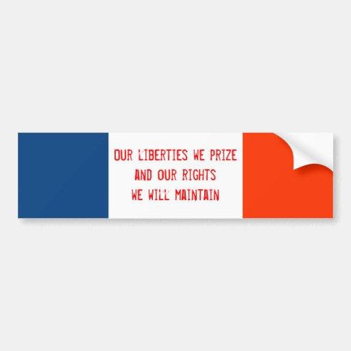 Iowa State Motto Bumper Sticker | Zazzle