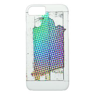 Iowa State multicolor iPhone 8/7 Case