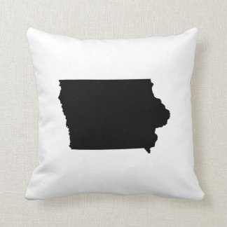Iowa State Outline Throw Pillow