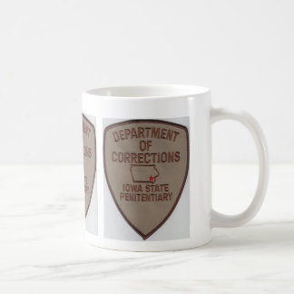 IOWA STATE PENITENTIARY - DEPT OF CORRECTIONS COFFEE MUG