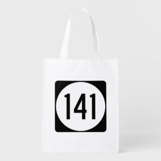 Iowa State Route 141 Grocery Bag
