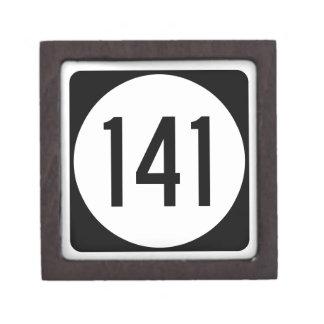 Iowa State Route 141 Jewelry Box