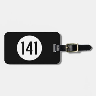Iowa State Route 141 Luggage Tag