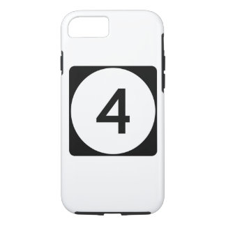 Iowa State Route 4 iPhone 8/7 Case