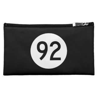 Iowa State Route 92 Cosmetic Bag