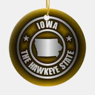 """Iowa Steel"" Ornaments (G)"