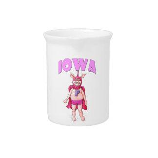 Iowa Super Pig Beverage Pitcher